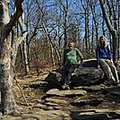 Cookerhiker & Scarf on Springer Mountain by Cookerhiker in Trail & Blazes in Georgia
