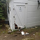 Bear Damage - Stratton Mtn Caretaker Hut by Captain Blue in Bears