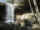 Waterfall Near Ohiopyle. by tarbender in Other Trails