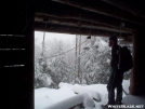 winter hiking by fiddlehead in New Hampshire Shelters