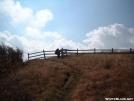 Silver Dome enters stile on Hump Mountain by cabeza de vaca in Trail & Blazes in North Carolina & Tennessee