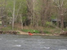 Kayakers on French Broad River