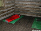 Interior of Roan High Knob Shelter October 21, 2005 by cabeza de vaca in North Carolina & Tennessee Shelters