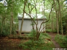 Rear View of Bald Mountain Shelter, TN 28JUL2005 by cabeza de vaca in North Carolina & Tennessee Shelters