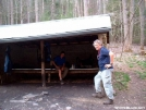Groundhog Creek Shelter by cabeza de vaca in Section Hikers