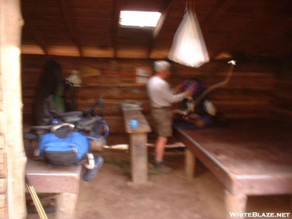 Roaring Fork Shelter Interior