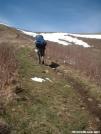 Climbing Max Patch by cabeza de vaca in Views in North Carolina & Tennessee