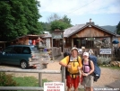 Father and Daughter at Uncle Johnny\'s Nolichucky Hostel 30JUL2005 by cabeza de vaca in Section Hikers