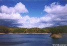 Fontana Dam Lake from South Approach by cabeza de vaca in Views in North Carolina & Tennessee