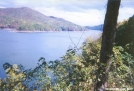 Fontana Dam Lake View from South approach by cabeza de vaca in Views in North Carolina & Tennessee