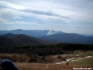 Fire Smoke rising to south of Max Patch by cabeza de vaca in Views in North Carolina & Tennessee