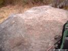Landmark before Rocky Top by cabeza de vaca in Trail & Blazes in North Carolina & Tennessee
