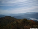 Fontana Lake View from Shuckstack Fire Tower by cabeza de vaca in Trail & Blazes in North Carolina & Tennessee