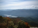 Fonatana Dam Lake from Shuckstack Fire Tower by cabeza de vaca in Trail & Blazes in North Carolina & Tennessee
