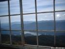 Shuckstack Fire Tower Interior by cabeza de vaca in Trail & Blazes in North Carolina & Tennessee