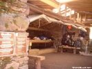 Tricorner Knob Shelter Interior by cabeza de vaca in North Carolina & Tennessee Shelters