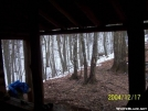 View out Brown Fork Shelter by SGT Rock in North Carolina & Tennessee Shelters