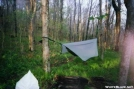 Hennessy Hammock and MatCat Tarp by SGT Rock in Hammock camping
