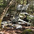 Plane crash atop Calloway Peak