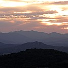Blue Ridge Sunset by Story in Other Trails