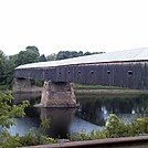 the longest covered bridge in the US( NH)
