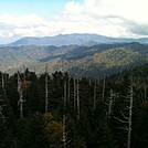 Up on Clingmans Dome Observatory by Sean The Bug in Views in North Carolina & Tennessee