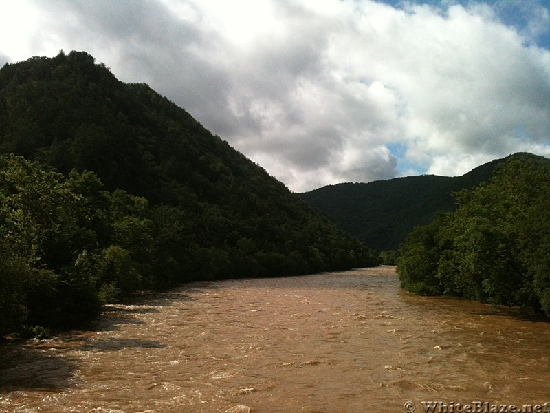 French Broad River - Hot Springs, NC