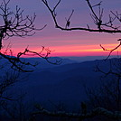 Sunset on the AT by TheHighTrailGuy in Views in North Carolina & Tennessee