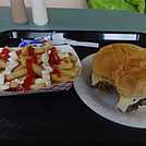 Burger & fries at the Creeper Cafe by JumpMaster Blaster in Other Galleries