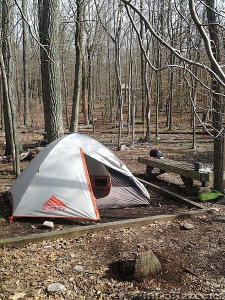 David Lesser Shelter - Camp Site