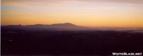 katahdin at sunrise