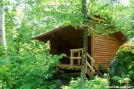 Bamforth Ridge Shelter, Long Trail VT by Rough in Vermont Shelters