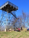 Wesser Bald Firetower by MarcnNJ in Trail & Blazes in North Carolina & Tennessee