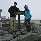 My brother and I at Mt. Washington by jgraydus in Faces of WhiteBlaze members