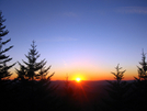 Sunset on the Mountains-to-Sea Trail by Phreak in Other Galleries