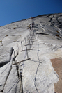 Cables at Half-Dome by Phreak in Other Trails