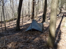 Camping by a Shelter by BobTheBuilder in Members gallery