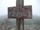 White Cap Sign by Turtle2 in Trail & Blazes in Maine