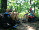 Hot Day Rest Stop by Turtle2 in Thru - Hikers