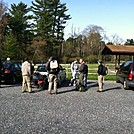 unloading at Pine Grove Furnace by Axeman in Section Hikers