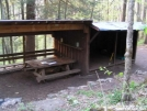Rock Gap Shelter by LovelyDay in North Carolina & Tennessee Shelters