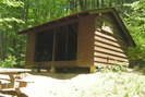 Brown Mountain Creek Shelter