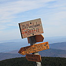 Mount Moosilauke NH by LovelyDay in Sign Gallery