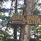 Beaver Brook Shelter