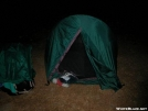 Tent site near Lehigh Gap PA by NJHiker in Tent camping