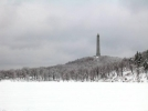 High Point on ice by NJHiker in Views in New Jersey & New York