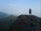 Posing on the Bunion by SGT Rock in Section Hikers