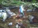 Creek Hopper crossing Slickrock Creek