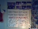 White Blaze Card by SGT Rock in WhiteBlaze get togethers