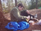 Making Breakfast by SGT Rock in Section Hikers